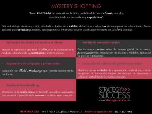 Mystery shopping BAJA